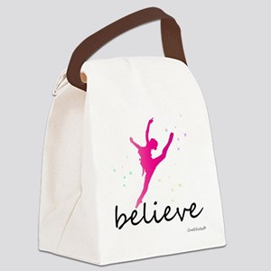 cp_believeballet Canvas Lunch Bag