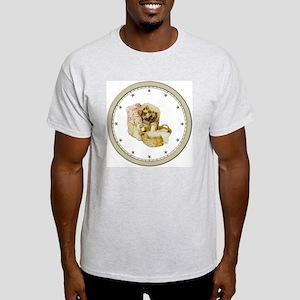 CLOCK Mrs, Tiggle-Winkle Silver Star Light T-Shirt