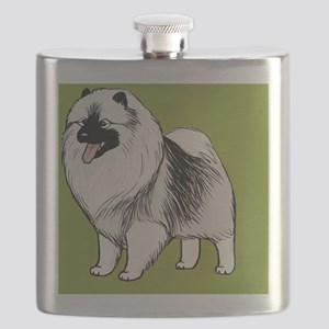 keeshondminiwallet Flask