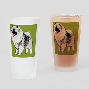 keeshondminiwallet Drinking Glass