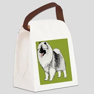 keeshondminiwallet Canvas Lunch Bag