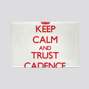 Keep Calm and TRUST Cadence Magnets
