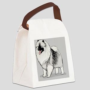 keeshondskin Canvas Lunch Bag