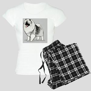 keeshondskin Women's Light Pajamas
