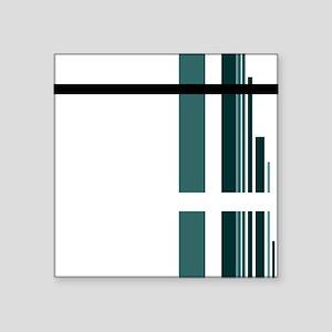 """menteal2-120dpi Square Sticker 3"""" x 3"""""""