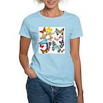 Beautiful Butterflies Women's Light T-Shirt