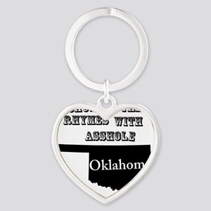 asshole Heart Keychain