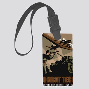 CombatTech_7x10 Large Luggage Tag