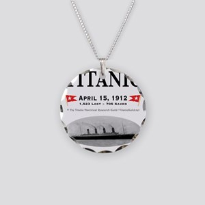 TG2 GhostTransBlack12x12USE  Necklace Circle Charm