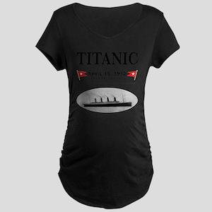 TG2 GhostTransBlack12x12USE Maternity Dark T-Shirt