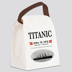 TG2 GhostTransBlack12x12USE THIS Canvas Lunch Bag