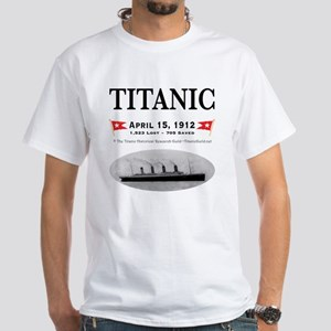 TG2 GhostTransBlack12x12USE THIS White T-Shirt