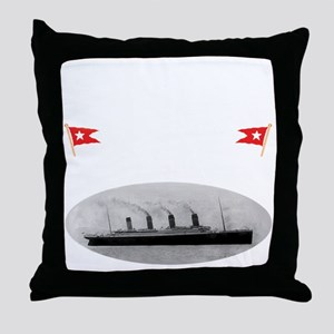 TG2 GhostTransWhite12x12USETHIS Throw Pillow