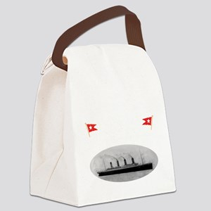 TG2 GhostTransWhite12x12USETHIS Canvas Lunch Bag