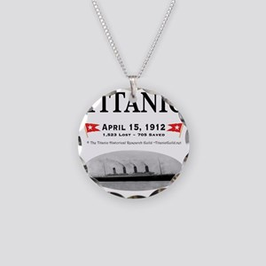 TG2 Ghost Boat 12x12-3 Necklace Circle Charm