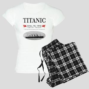 TG2 Ghost Boat 12x12-3 Women's Light Pajamas