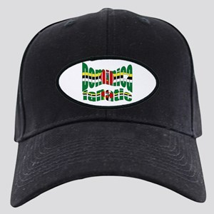 Dominican Island flag fanatic Black Cap