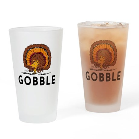 Gobble Drinking Glass