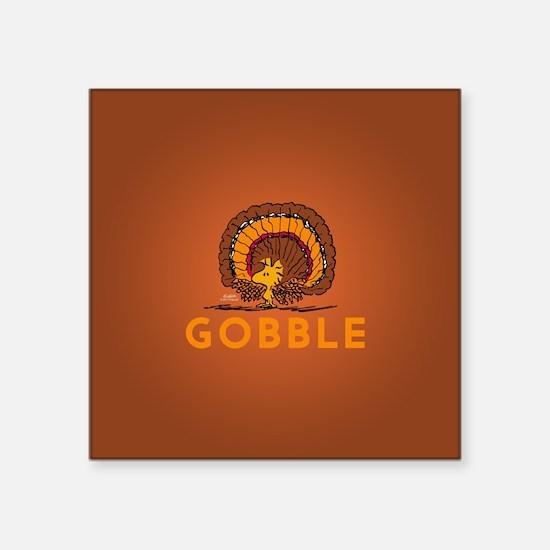 """Gobble Square Sticker 3"""" x 3"""""""