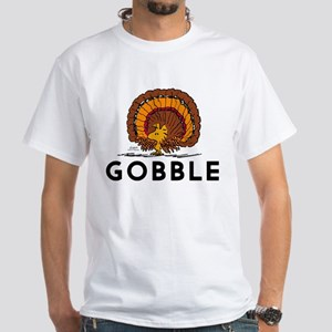 Gobble White T-Shirt