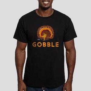 Gobble Men's Fitted T-Shirt (dark)