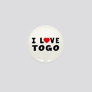 I Love Togo Mini Button