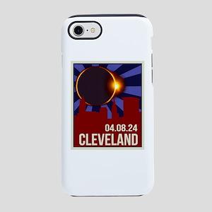2024 Cleveland Total Solar Ecl iPhone 7 Tough Case