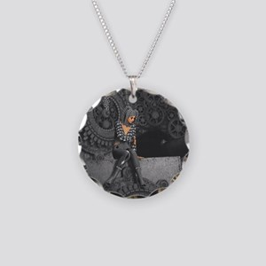 ttro_11x11_pillow_hell Necklace Circle Charm