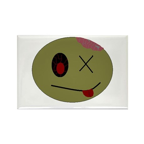zombie one Rectangle Magnet (100 pack)