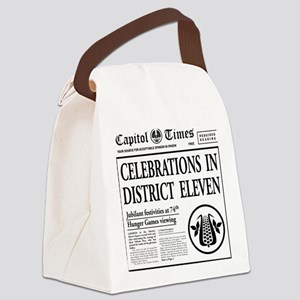 10 bag Canvas Lunch Bag