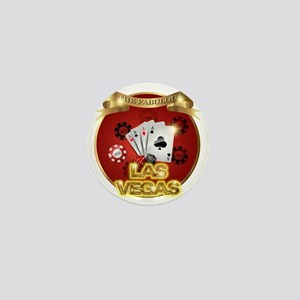 1 Gambling Vegas Mini Button