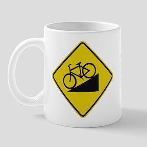Biking Road Sign Mug