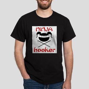 ninja hooker (crochet) Dark T-Shirt
