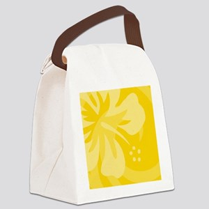 Yellow-King Canvas Lunch Bag