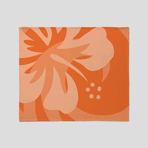 Orange-PillowCase Throw Blanket
