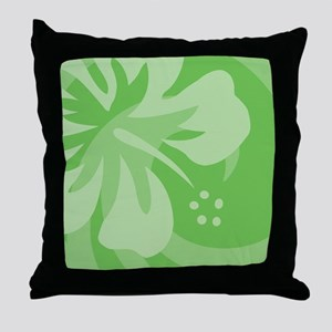 Green-King Throw Pillow