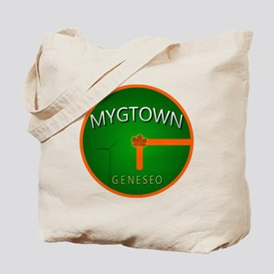 Back Mygtown t-shirt Tote Bag