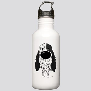BlkEnglishSetterShirtF Stainless Water Bottle 1.0L