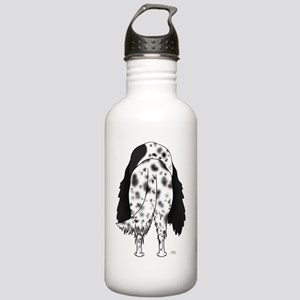BlkEnglishSetterShirtB Stainless Water Bottle 1.0L