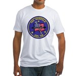 USS NORFOLK Fitted T-Shirt