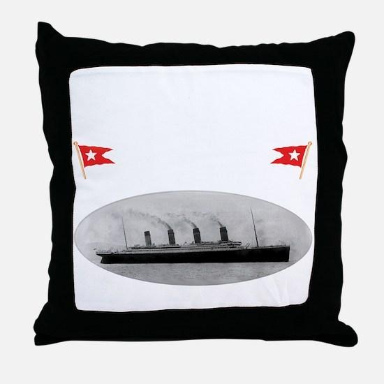 TG2TransWhite12x12-e Throw Pillow