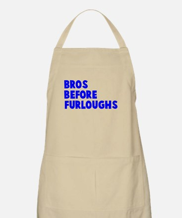 Bros Before Furloughs Apron
