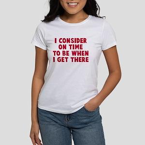 I consider on time Women's T-Shirt