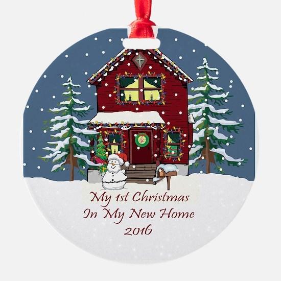 2016 My 1St Christmas House Ornament