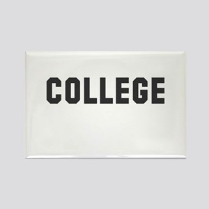 College Rectangle Magnet