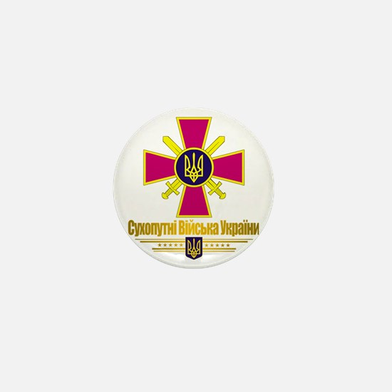 Ukranian Ground Forces (Flag 10)2 Mini Button
