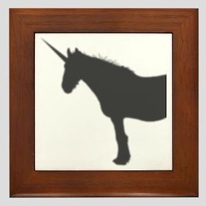 unicorn Framed Tile