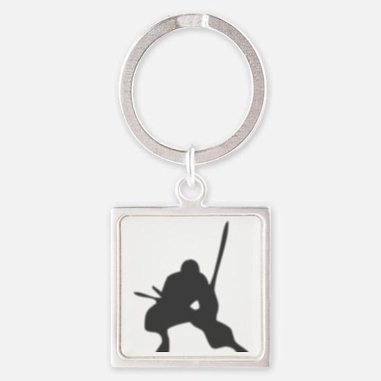 ninja2 Square Keychain