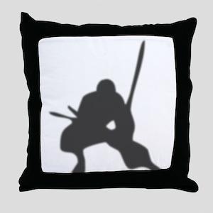 ninja2 Throw Pillow