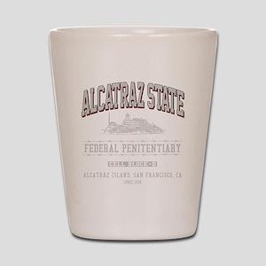 ALCATRAZ_STATE_lcp Shot Glass